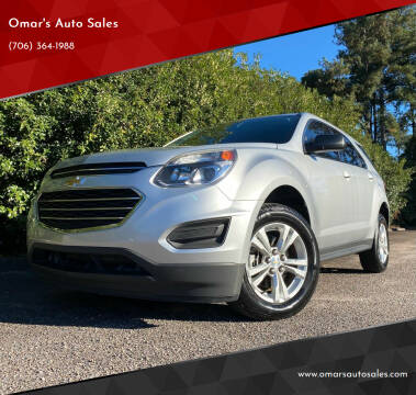 2016 Chevrolet Equinox for sale at Omar's Auto Sales in Martinez GA