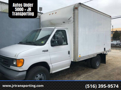 2003 Ford E-Series Chassis for sale at Autos Under 5000 + JR Transporting in Island Park NY