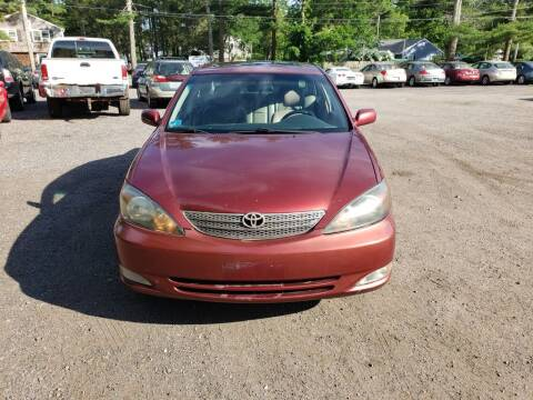 2002 Toyota Camry for sale at 1st Priority Autos in Middleborough MA