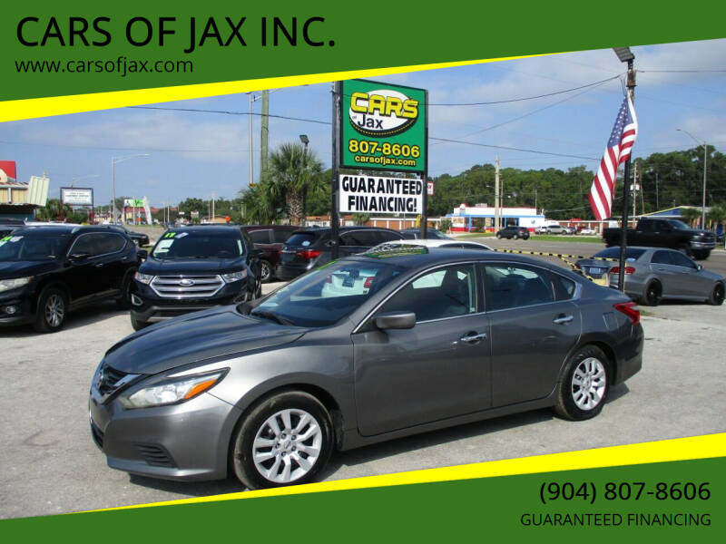 2017 Nissan Altima for sale at CARS OF JAX INC. in Jacksonville FL