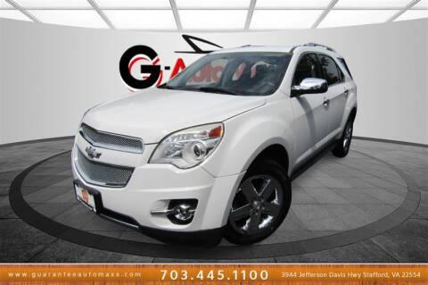 2014 Chevrolet Equinox for sale at Guarantee Automaxx in Stafford VA