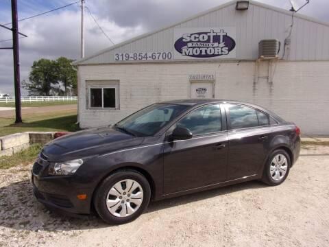 2014 Chevrolet Cruze for sale at SCOTT FAMILY MOTORS in Springville IA