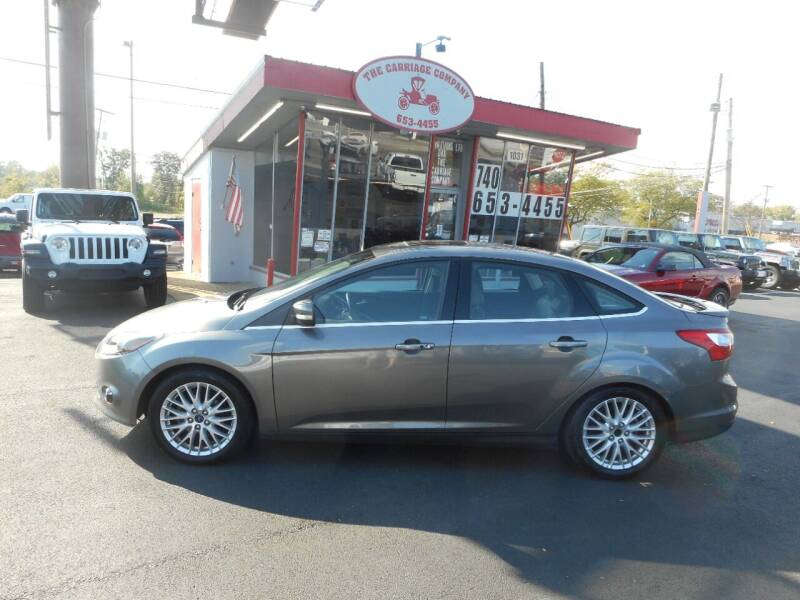 2014 Ford Focus for sale at The Carriage Company in Lancaster OH