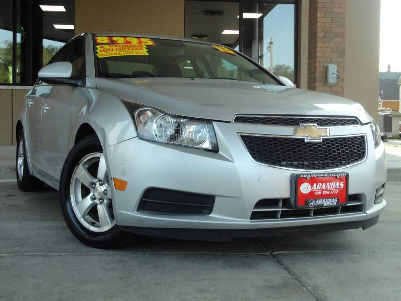2013 Chevrolet Cruze for sale at Arandas Auto Sales in Milwaukee WI