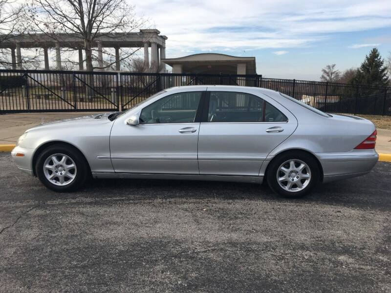 2001 Mercedes-Benz S-Class for sale at AUTOS OF EUROPE in Manchester MO