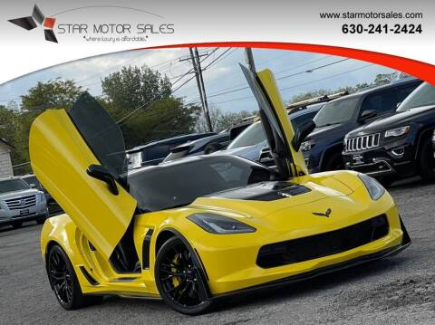 2017 Chevrolet Corvette for sale at Star Motor Sales in Downers Grove IL