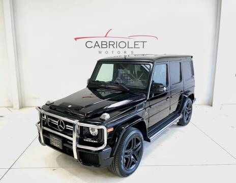 2015 Mercedes-Benz G-Class for sale at Cabriolet Motors in Morrisville NC