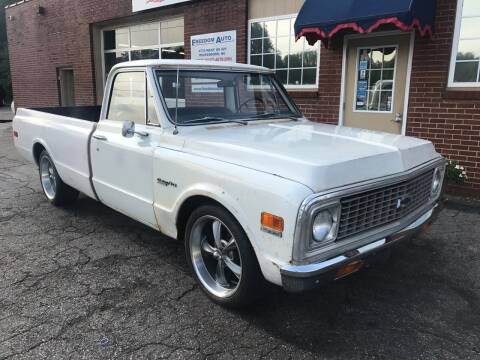 1972 Chevrolet C/K 10 Series for sale at FREEDOM AUTO LLC in Wilkesboro NC