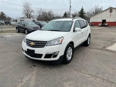 2013 Chevrolet Traverse for sale at Dean's Auto Sales in Flint MI