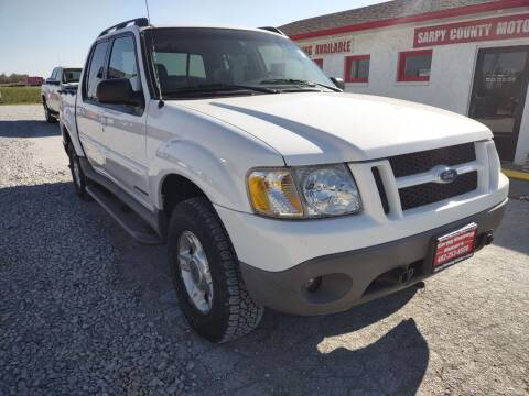 2001 Ford Explorer Sport Trac for sale at Sarpy County Motors in Springfield NE