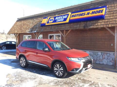 2019 Mitsubishi Outlander for sale at MOTORS N MORE in Brainerd MN