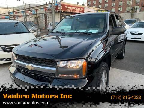2008 Chevrolet TrailBlazer for sale at Vanbro Motors Inc in Staten Island NY