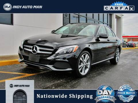 2017 Mercedes-Benz C-Class for sale at INDY AUTO MAN in Indianapolis IN