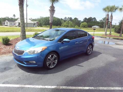 2014 Kia Forte for sale at First Choice Auto Inc in Little River SC