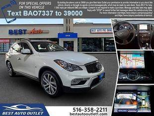 2017 Infiniti QX50 for sale at Best Auto Outlet in Floral Park NY