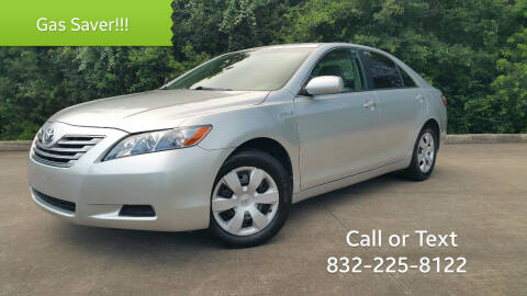 2009 Toyota Camry Hybrid for sale at Houston Auto Preowned in Houston TX