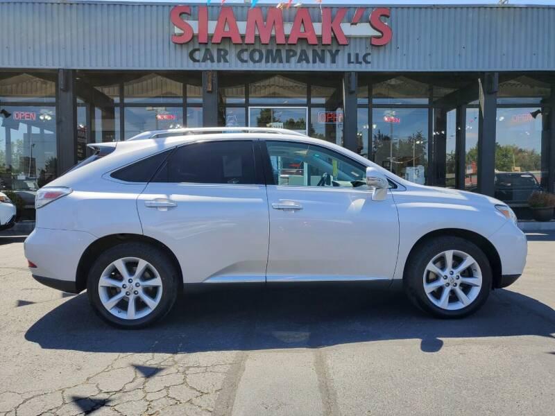 2010 Lexus RX 350 for sale at Siamak's Car Company llc in Salem OR