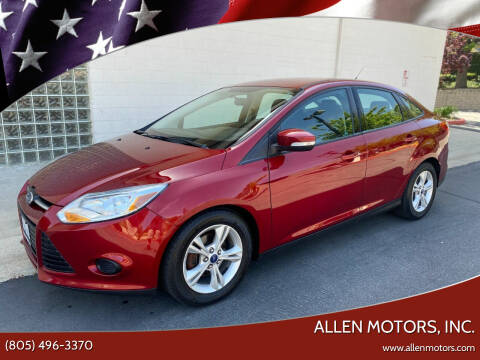 2014 Ford Focus for sale at Allen Motors, Inc. in Thousand Oaks CA