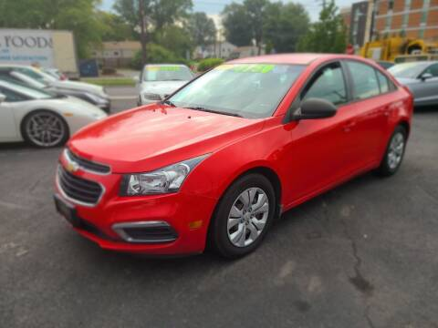 2015 Chevrolet Cruze for sale at Costas Auto Gallery in Rahway NJ