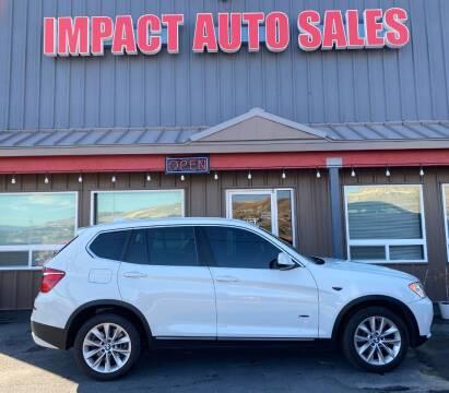 2013 BMW X3 for sale at Impact Auto Sales in Wenatchee WA
