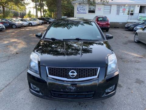 2010 Nissan Sentra for sale at MEEK MOTORS in North Chesterfield VA