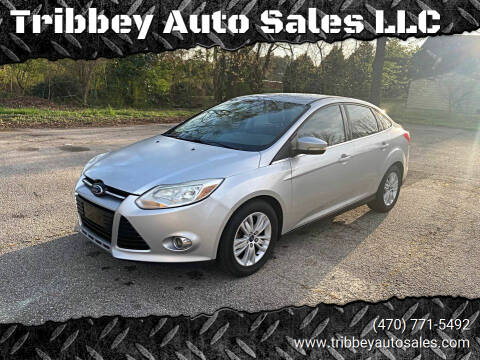 2012 Ford Focus for sale at Tribbey Auto Sales in Stockbridge GA