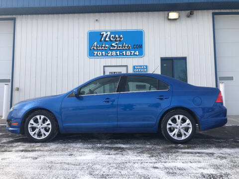 2012 Ford Fusion for sale at NESS AUTO SALES in West Fargo ND