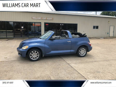 2006 Chrysler PT Cruiser for sale at WILLIAMS CAR MART in Gassville AR