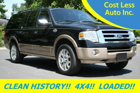 2014 Ford Expedition EL for sale at Cost Less Auto Inc. in Rocklin CA