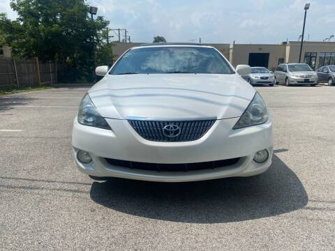 2004 Toyota Camry Solara for sale at Platinum Cars Exchange in Downers Grove IL