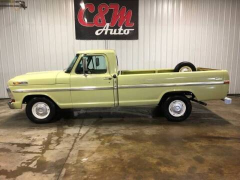 1970 Ford F-100 for sale at C&M Auto in Worthing SD