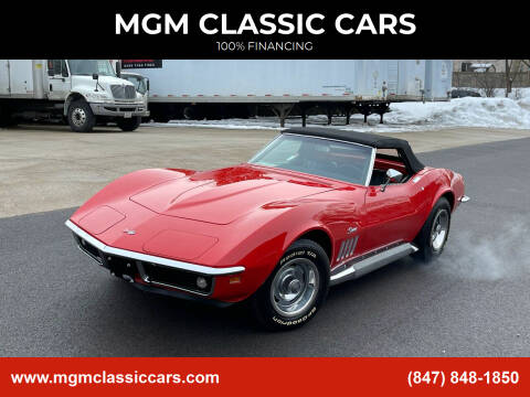 1969 Chevrolet Corvette for sale at MGM CLASSIC CARS in Addison, IL