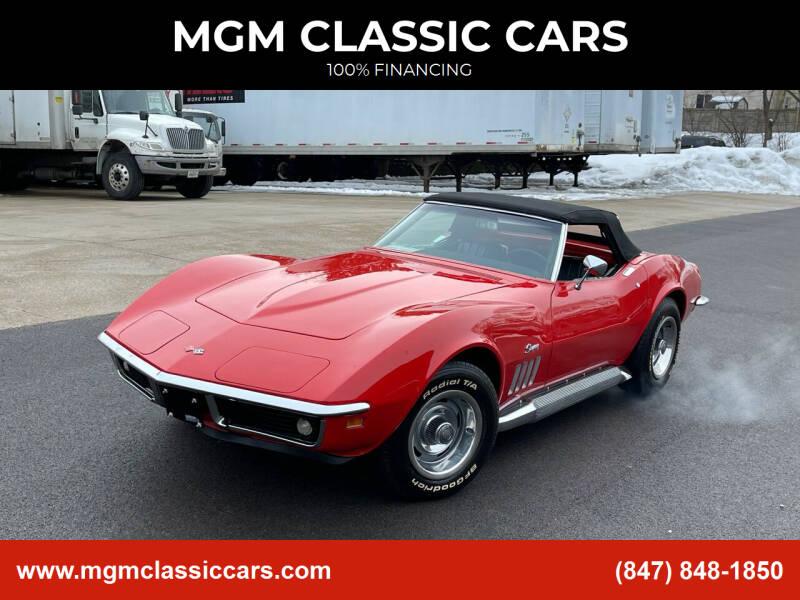 1969 Chevrolet Corvette for sale at MGM CLASSIC CARS in Addison, IL
