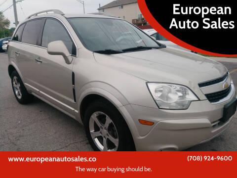 2013 Chevrolet Captiva Sport for sale at European Auto Sales in Bridgeview IL