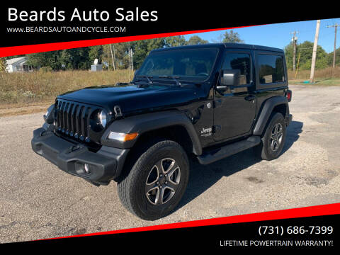 2021 Jeep Wrangler for sale at Beards Auto Sales in Milan TN