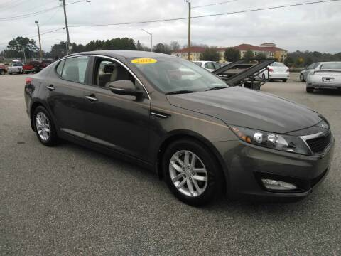 2012 Kia Optima for sale at Kelly & Kelly Supermarket of Cars in Fayetteville NC