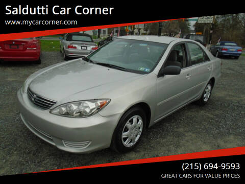 2005 Toyota Camry for sale at Saldutti Car Corner in Gilbertsville PA