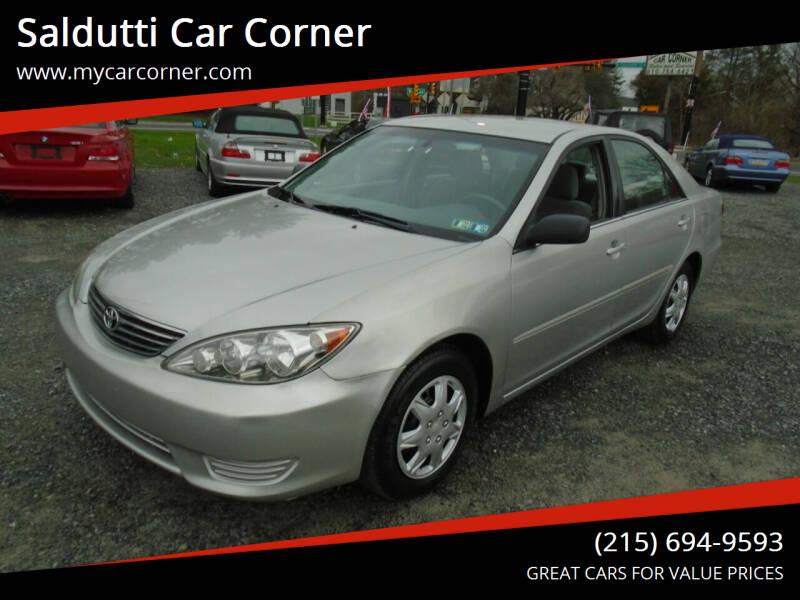 2005 Toyota Camry for sale at Saldutti Car Corner in Gilbertsville PA