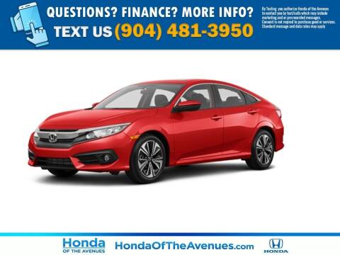 2016 Honda Civic for sale at Honda of The Avenues in Jacksonville FL
