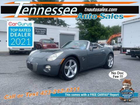 2008 Pontiac Solstice for sale at Tennessee Auto Sales in Elizabethton TN