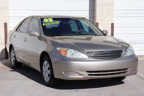 2003 Toyota Camry for sale at MG Motors in Tucson AZ