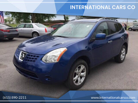 2010 Nissan Rogue for sale at International Cars Co in Murfreesboro TN