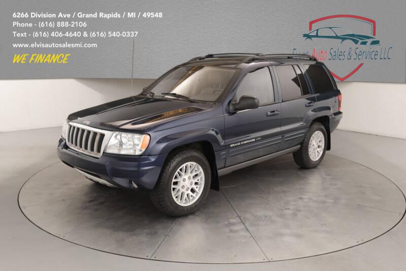 2004 Jeep Grand Cherokee for sale at Elvis Auto Sales LLC in Grand Rapids MI