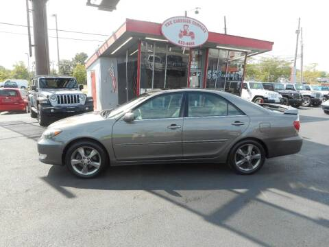 2005 Toyota Camry for sale at The Carriage Company in Lancaster OH