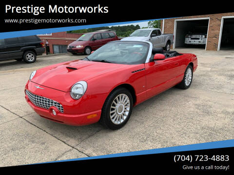 2004 Ford Thunderbird for sale at Prestige Motorworks in Concord NC