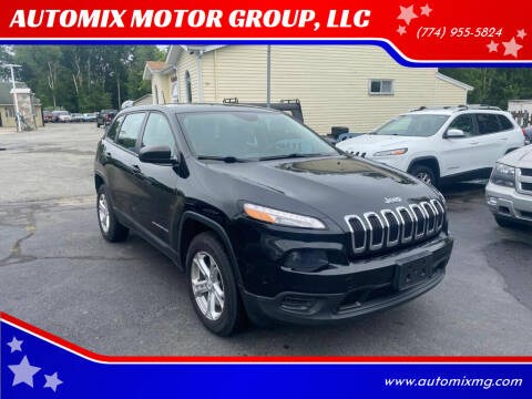 2014 Jeep Cherokee for sale at AUTOMIX MOTOR GROUP, LLC in Swansea MA