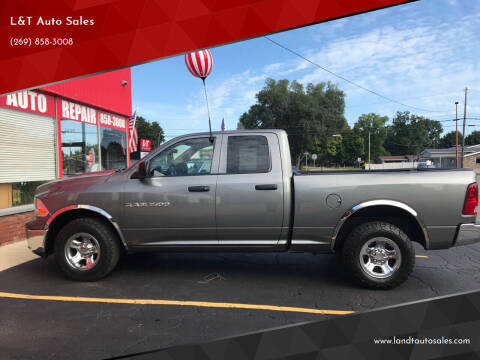 2011 RAM Ram Pickup 1500 for sale at L&T Auto Sales in Three Rivers MI