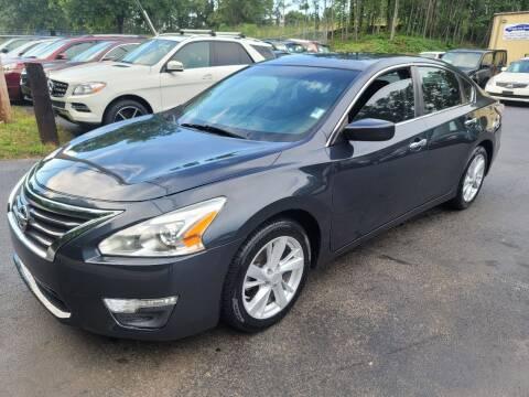 2015 Nissan Altima for sale at GEORGIA AUTO DEALER, LLC in Buford GA