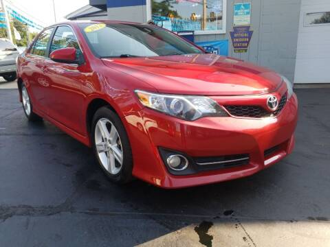 2012 Toyota Camry for sale at Fleetwing Auto Sales in Erie PA