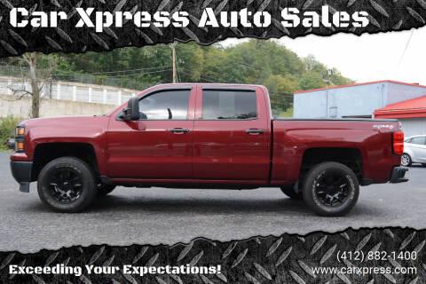 2014 Chevrolet Silverado 1500 for sale at Car Xpress Auto Sales in Pittsburgh PA